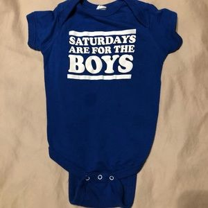 Other - Saturdays are for the boys onesie